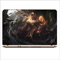 Miếng Dán Skin In Decal Dành Cho Laptop -  Leesin LMHT 4