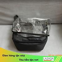 Túi treo xe máy có miếng che mưa bảo vệ túi và điện thoại, túi treo vật dụng xe máy co tấm che mưa,SUNHA SH 1479