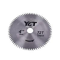 Lưỡi cưa cắt gỗ YCT 72 răng 110X16mm gắn máy mài hoặc bộ chuyển đổi