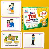 Thẻ Học Thông Minh Flashcards Giúp Trẻ Phát Triển Ngôn Ngữ Và Giao Tiếp BENRIKIDS