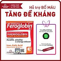 Thực phẩm bảo vệ sức khỏe FEROGLOBIN B12 Capsules - Hỗ trợ tăng khả năng tạo máu, hỗ trợ nâng cao sức đề kháng - HÀNG CHÍNH HÃNG - CÓ TEM CHÍNH HÃNG - Hộp 30 viên - KÈM QUÀ TẶNG