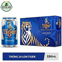 Bia Tiger Lon 330ml - 24 lon