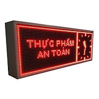 Biển quảng cáo màn hình LED thông minh HIKARU 1 màu,2 mặt hiển thị, KT cao 360 x rộng 1000