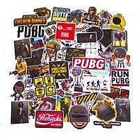 Set 100 Sticker hình dán - PUBG