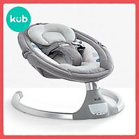 Nôi Rung Điện Tự Động Cho Bé - KUB - Model Mới 2019, Màn Hình Cảm Ứng LED, Phát Nhạc Qua Điện Thoại Bằng Bluetooth, Điều Khiển Từ Xa