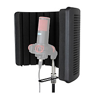 Màn chắn tiêu âm ALCTRON PF66 cho micro 3 lớp chống ồn, chống tiếng vang, loại bỏ tạp âm - Hàng chính hãng