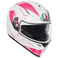 Nón Bảo Hiểm K-3 SV AGV E2205 Multi Asia3 Izumi White/Pink