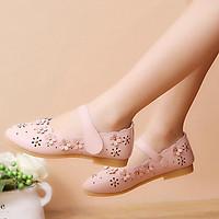 Giày búp bê quai da mềm cho bé gái