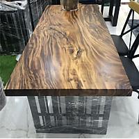 Bàn gỗ me tây nguyên tấm 1.4m