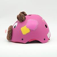 Mũ Bảo Hiểm Thể Thao Nữa Đầu X Pro Hình Gấu