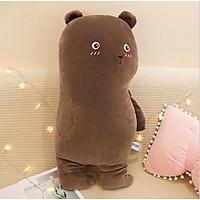 Gấu Nâu nhồi bông size 50cm Siêu Mềm Mại