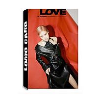 Lomo card Rose BLACK PINK Album