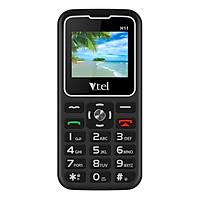 Điện thoại Vtel Happy H11 (Điện thoại cho người già - 2 Sim) - Gọi SOS khẩn,  Số To, Chữ To, Loa to, FM loa ngoài, Pin lớn, Thiết Kế Đẹp - Hàng Chính Hãng