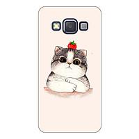 Ốp lưng dẻo cho Samsung Galaxy A3 2015_Cat 05