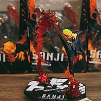 Mô hình Sanji đá lửa battle ver