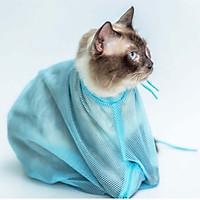 Túi Hổ Trợ Tắm, Cắt Móng Mèo (Giao Màu Ngẫu Nhiên)