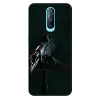 Ốp lưng nhựa cứng nhám dành cho Oppo RX17 Pro in hình PUPG