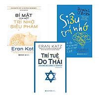 Combo Rèn Luyện Trí Nhớ: Bí Mật Của Một Trí Nhớ Siêu Phàm + Siêu Trí Nhớ + Trí Tuệ Do Thái