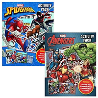 Combo Marvel Activity Pack: Spider-Man - Avengers