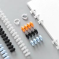 Dụng cụ để giữ giấy refill size A4 (có thể cắt cho các loại sổ  khác) nhiều màu