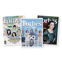 Combo tạp chí Forbes Việt Nam chủ đề Phụ nữ trong kinh doanh