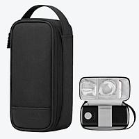 Túi đựng pin sạc dự phòng 30000 mAh cỡ lớn và điện thoại Bubm LMS 4W - Hàng nhập khẩu