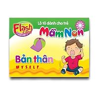 Flash Card song ngữ Anh Việt – Lô tô cho trẻ mầm non - Chủ đề: Bản thân