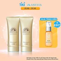 Bộ đôi 2 Kem chống nắng dạng gel bảo vệ hoàn hảo Anessa Perfect UV Sunscreen Skincare Gel 90g
