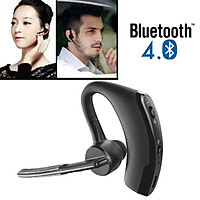 Wireless Headset, Bluetooth 4.0 Earphone Hands-Free Stereo Headset with Mic Noise Cancelling for Business, Driving, Sports