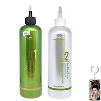 Thuốc uốn phục hồi tóc Sophia Platinum Eco Clinic Pern cao cấp Hàn Quốc (2x500ml)