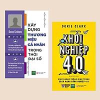 Combo Sách Kỹ Năng Làm Việc: Xây Dựng Thương Hiệu Cá Nhân Trong Thời Đại Số + Khởi Nghiệp 4.0 (Tuyệt Chiêu Kinh Doanh Hiệu Qủa 4.0)