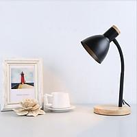 Đèn bàn GOBLIN đế gỗ trang trí nội thất hiện đại