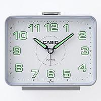 Đồng Hồ Để Bàn Casio TQ-218-8DF Báo Thức - Dạ Quang Cỡ To - Kích Thước Vỏ  ( 9 ×10.7 × 6 cm )
