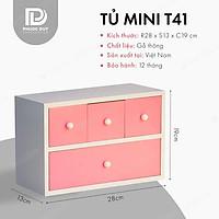 Tủ mini để bàn đa năng - Tủ nữ trang mỹ phẩm T41