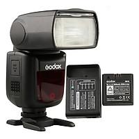 Đèn Flash Godox V860II Cho Canon + Tặng Kèm Pin Và Sạc - Hàng Chính Hãng