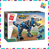 Bộ Đồ Chơi Xếp Hình Thông Minh Lego Khủng Long 375 Mảnh Ghép Biến Biến Hình 3 Mẫu 4803 Cho Trẻ Từ 6 Tuổi