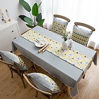 Khăn vải trang trí bàn ăn vải Canvas 1m8 3-D-E6-T3023