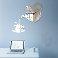 Đồng hồ tự dán tường 3D cao cấp phong cách Châu Âu DH51