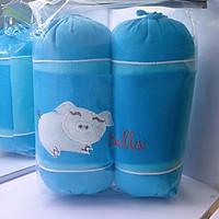 Bộ chặn vỏ đỗ cho bé sơ sinh(gối chặn)