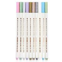 Bộ 10 cây bút vẽ trang trí mực nhũ kim loại STA 10 màu vẽ được lên tất cả các vật liệu