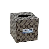 Hộp đựng khăn giấy hình vuông Homestar giao màu ngẫu nhiên