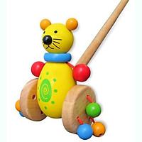 Cây Đẩy Mèo Mk - Đồ chơi gỗ