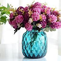 Cành 10 bông hoa tú cầu giả trang trí nội thất HL1510