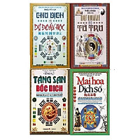 Combo 4 cuốn: Tăng san bốc dịch, Dự đoán theo tứ trụ, Chu dịch với dự đoán học. Mai hoa dịch số