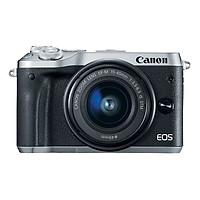 Máy Ảnh Canon EOS M6 Kit 15-45mm (Bạc) - Hàng Chính Hãng