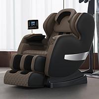 Ghế massage toàn thân trục SL M9, Máy massage cao cấp công nghệ mới nhất . Màn hình điều kiển cảm ứng.