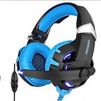 Tai nghe chuyên game âm thanh giả lập 7.1 visual trung thực đèn LED ONIKUMA K2 - dành cho game thủ - Chính hãng