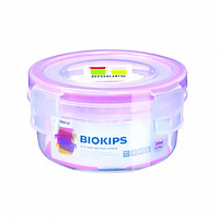 Hộp tròn chứa thực phẩm, cơm văn phòng kháng khuẩn, chịu nhiệt Komax Biokips nội địa Hàn Quốc(Asobu)
