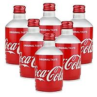 Combo 6 lon Coca Nhật chai nhôm 300ml ( mẫu mới )