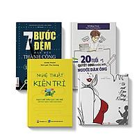 Sách COMBO 4 cuốn 7 bước đệm thành công + Nghệ thuật kiên trì + Bí mật đàn ông 12 cung + 20 tuổi cuộc đời người đàn ông